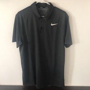 Nike Dri Fit Textured Golf Polo 2017